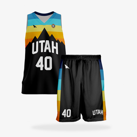 Men's Elite Basketball Uniform Set
