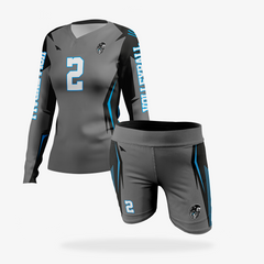 Women's JC Pro Volleyball Uniform Set