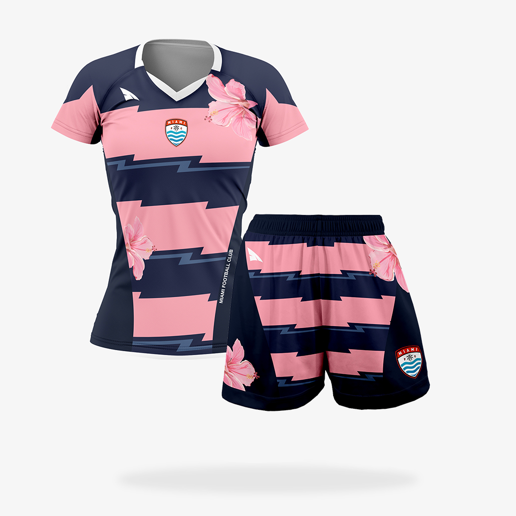 Women's Elite Soccer Uniform Set