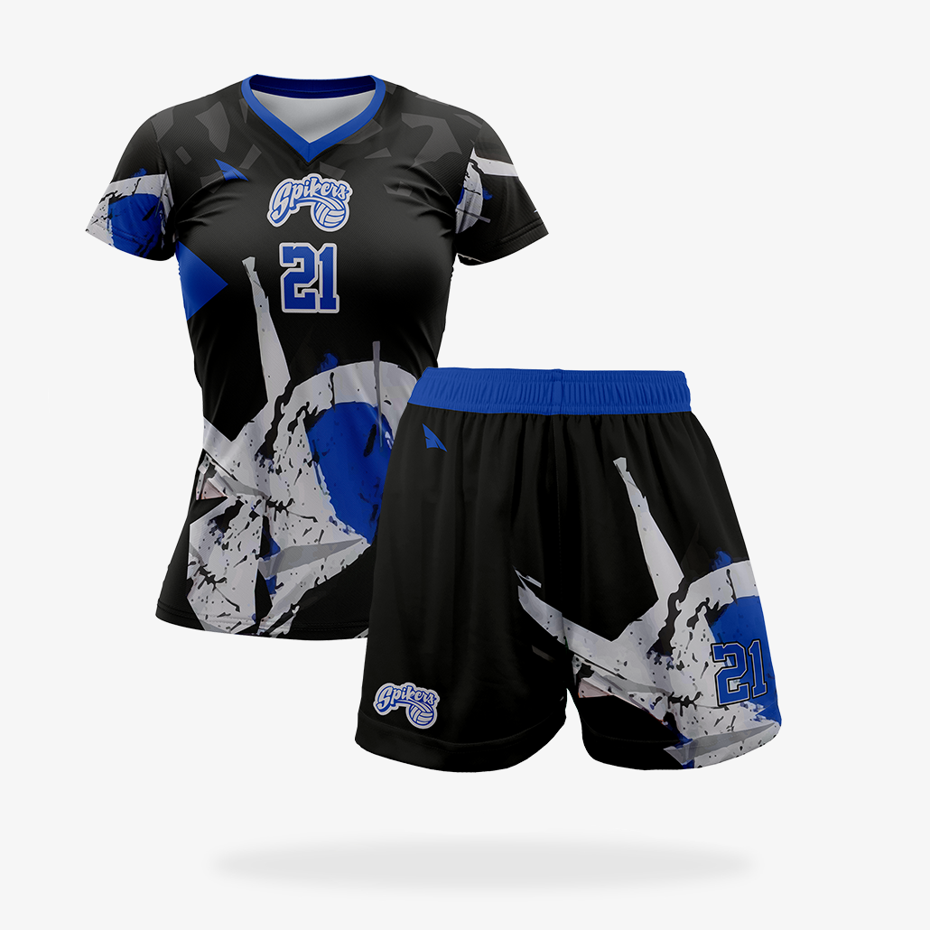 Women's JS Pro Volleyball Uniform Set