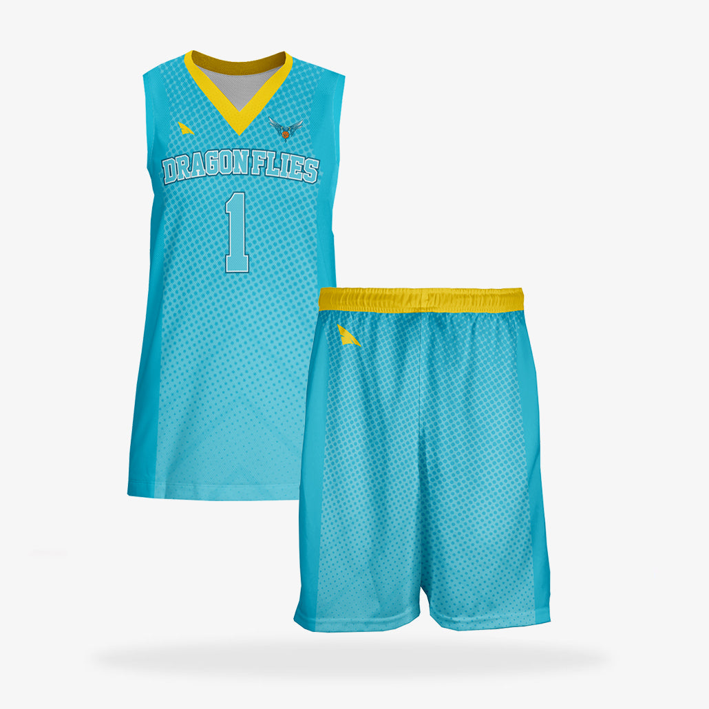 Women's Elite Basketball Uniform Set