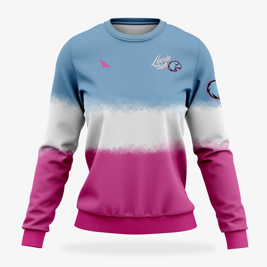 Women's Custom Sublimated Sweatshirt
