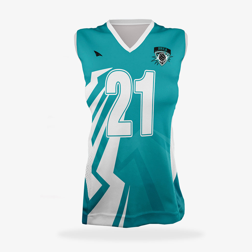 Women's Pro Volleyball Jersey (Sleeveless)