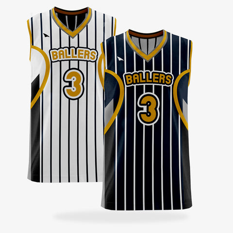 Men's Pro Basketball Reversible Jersey