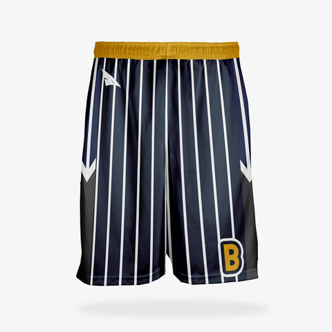 Men's Pro Basketball Reversible Shorts