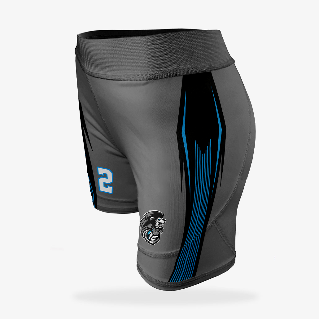 Women's Volleyball Compression Shorts (5