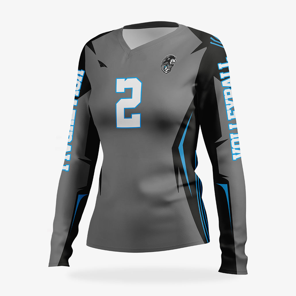 Women's Pro Volleyball Jersey (LS)