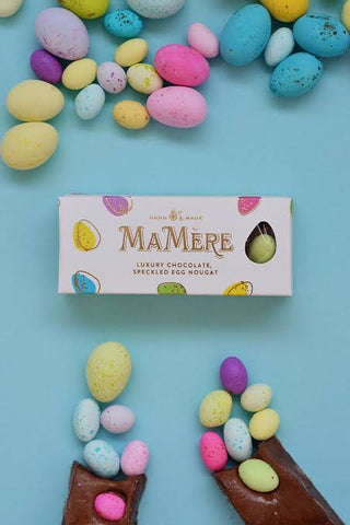 MA MERE CONFECTIONS SPECKLED EGG NOUGAT BAR