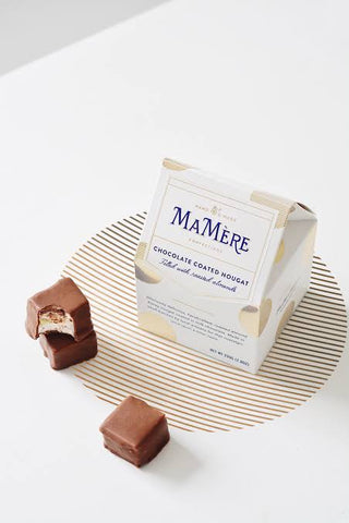 MA MERE CONFECTIONS CHOCOLATE COATED NOUGAT BOX