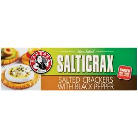 BAKERS SALTICRAX WITH BLACK PEPPER 200G