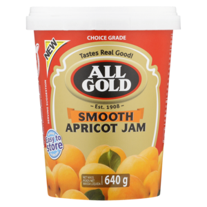 ALL GOLD SMOOTH APRICOT JAM 640G