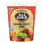 ALL GOLD SMOOTH MIXED FRUIT JAM 640G