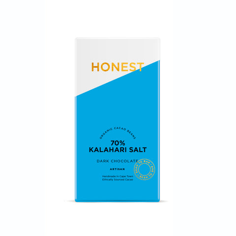 HONEST 70% SLAB WITH KALAHARI SALT