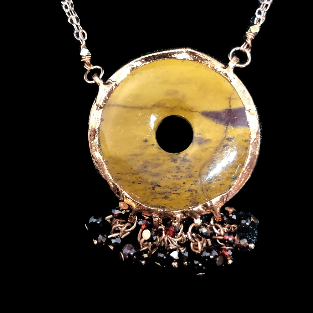 Load image into Gallery viewer, Autumn Jasper Necklace