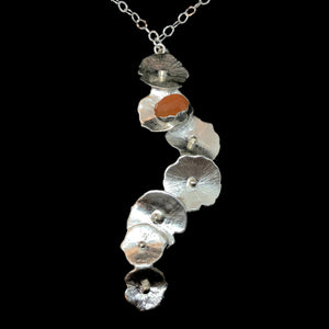 Load image into Gallery viewer, Sea Grape, Carnelian Necklace