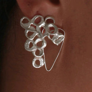 Abstract Bubble Earring