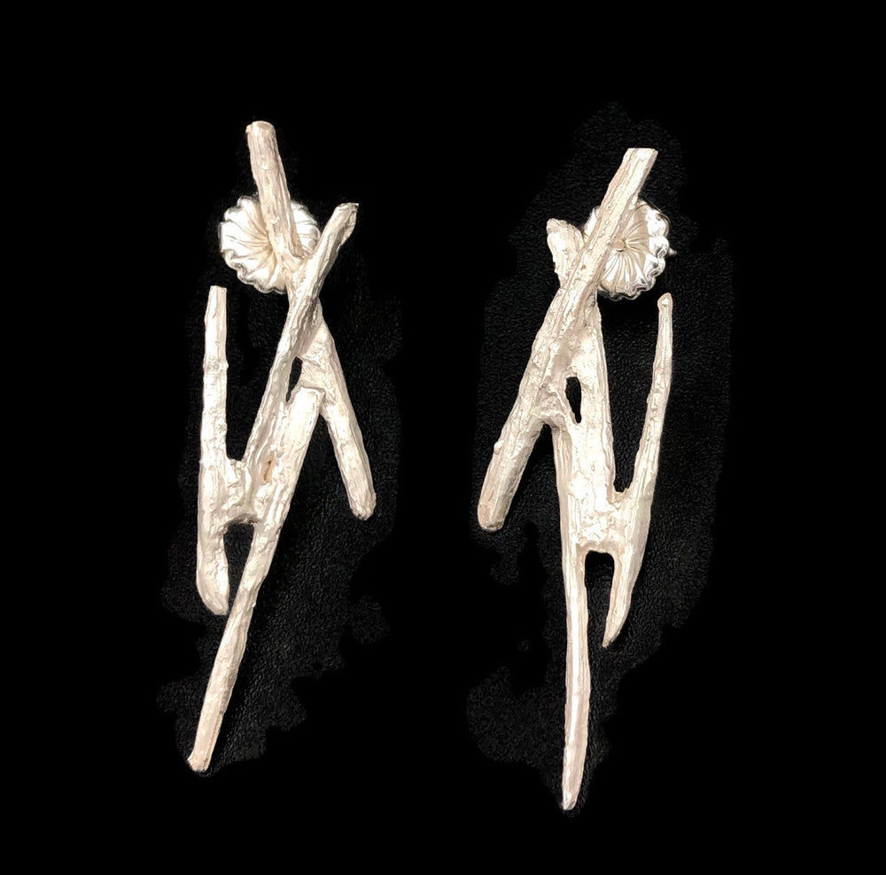 Abstract Stick Earring
