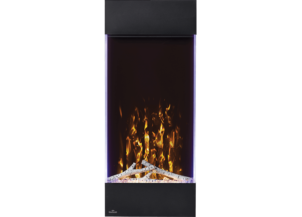Allure™ Vertical 38 Electric Fireplace | Wall Hanging Electric Fireplaces | Allure™ Vertical Series | Napoleon's Allure Vertical electric fireplaces create a trendsetting focal point in any space.