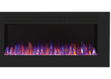 "Load image into Gallery viewer, Allure™ 50 Electric Fireplace | NEFL50FH |The 50"" Allure™ Electric Fireplace puts out an incredible 5,000 BTU's and will heat a space up to 400 sq. ft. 