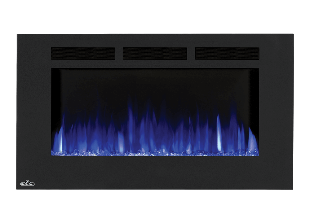 Allure™ 42 Electric Fireplace |The Napoleon Allure™ 42 Electric Fireplace puts out an incredible 5,000 BTU's, heating rooms up to 400 sq. ft. | Wall Hanging Fireplace | Allure™ Series