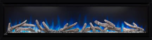 Alluravision™ 60 Deep Depth Electric Fireplace. NEFL60CHD. See the fireplace, not the frame with Napoleon's Alluravision™ Series linear electric fireplaces. They stand out from the rest with their nearly frameless viewing area which highlights the unique flame colors.