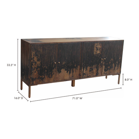 Image of Artist's Sideboard