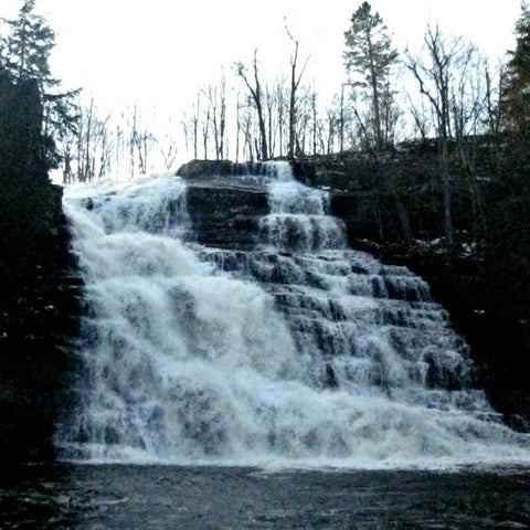 Tidy Thyme 100% Plant Based Natural Cleaning and Home was blown away by the power of the Barberville Falls on a recent hike.