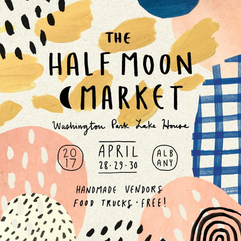 Tidy Thyme 100% Plant-Based Home and Cleaning is so excited to be a part of this spring's installment of The Half Moon Market at the Washington Park Lake House in Albany, April 28 -30, 2017