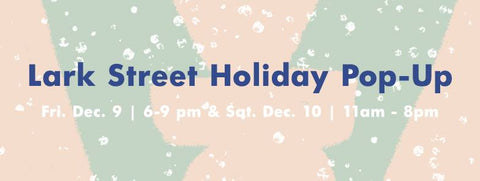 Tidy Thyme at the Lark Street Holiday Pop-Up on Friday 12/9 and Saturday 12/10 at 247 Lark St, Albany