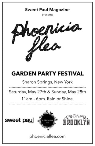 Find Tidy Thyme Plant-based Cleaning and Home Products at the Sharon Springs 2017 Garden Party with Beekman 1802 and Phoenicia Flea, May 27 & 28, 2017