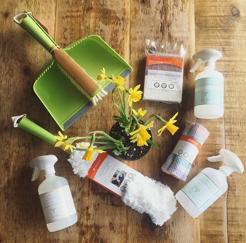 Tidy Thyme 100% Plant Based Home and Cleaning was a part of an Honest Weight Spring Giveaway!