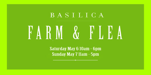 Find Tidy Thyme Plant-Based Cleaning and Home Products at the Basilica Farm & Flea, Saturday May 6 and Sunday May 7, 2017