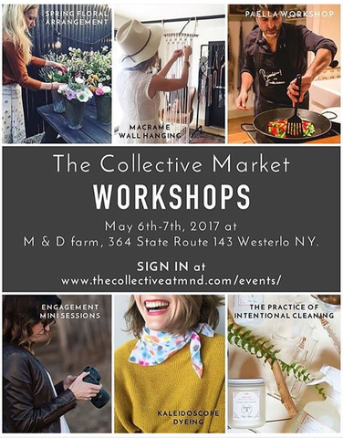 Tidy Thyme Plant Based Cleaning and Home is presenting a workshop on the Practice of Intentional Cleaning on Sunday May 7 at The Collective at M & D in beautiful Westerlo, NY