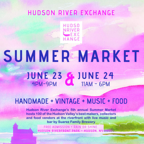 Find Tidy Thyme Plant Based Eco-Friendly Home and Cleaning Products at the Hudson River Exchange Summer Market in Hudson NY on June 23 & 24, 2017