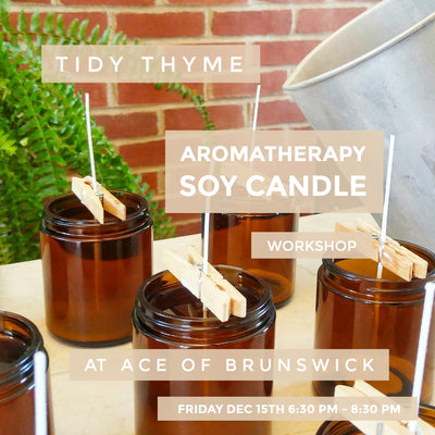 Aromatherapy Soy Candle Workshop