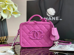 "Bolsa Chanel AS2179 ""Pink"""