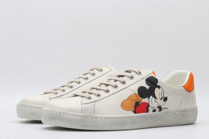 "Gucci Ace Mickey Mouse Gucci X Disney ""White/Orange/Green"""