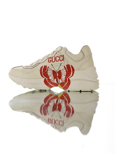 "Gucci Rhyton ""Beje/Red Butterfly"""