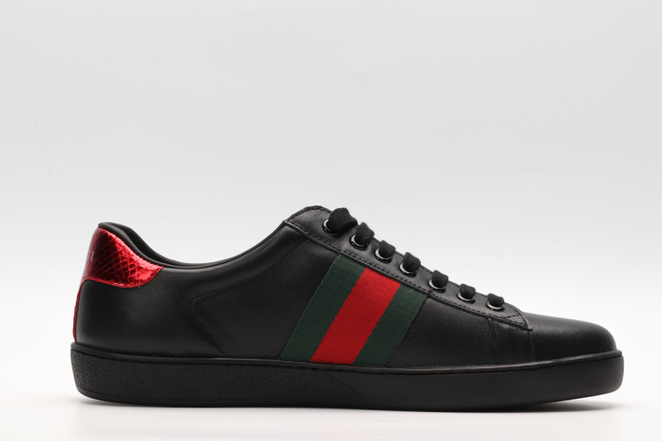 "Gucci Ace ""Black/Red"" (PRONTA ENTREGA)"