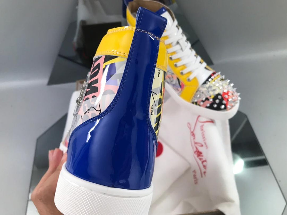 "Christian Louboutin Louis Spike ""Yellow World"""