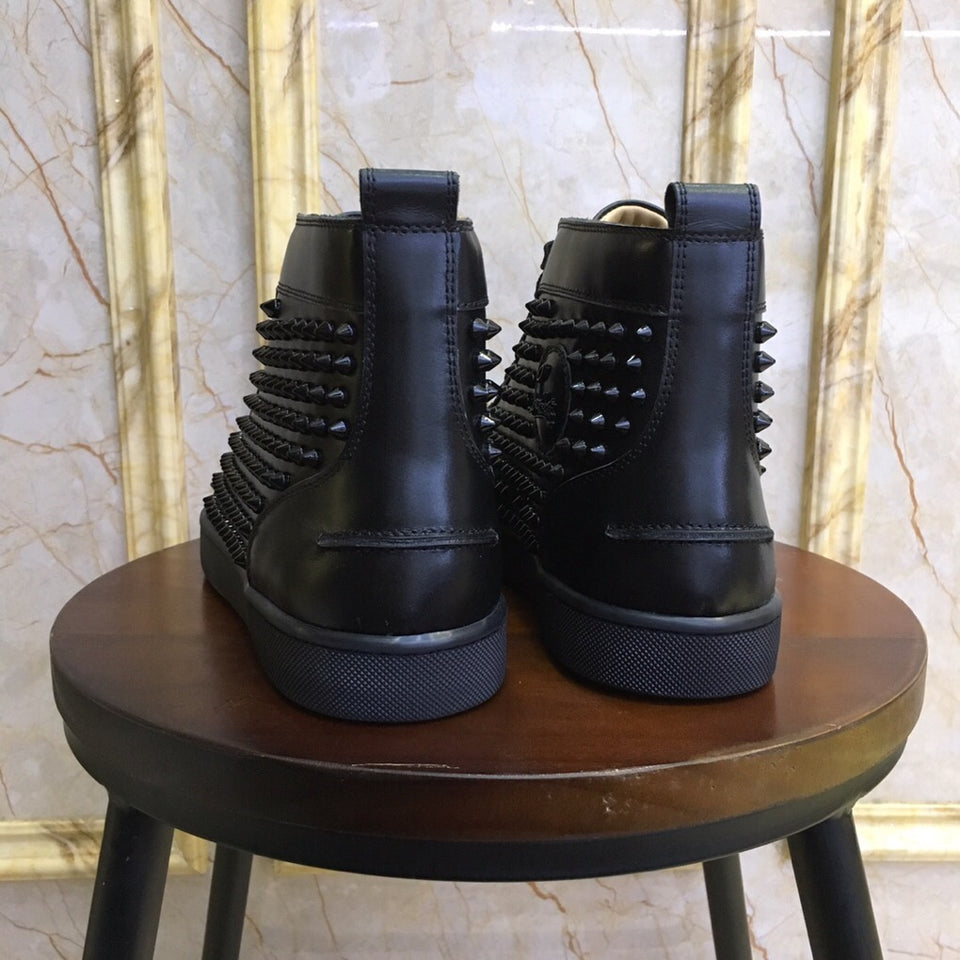 "Christian Louboutin Louis Spike ""Black"""