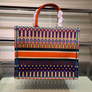 "Bolsa Christian Dior Book Tote ""Colorida"""