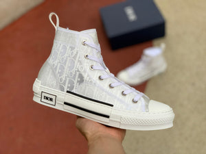 "B23 HIGH-TOP Dior Oblique ""White"""