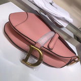 "Bolsa Christian Dior Saddle ""Blush Powder-Colored"""
