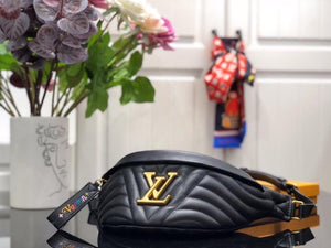 "Pochette LV Bumbag New Wave - ""Black/Gold"""