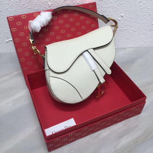"Bolsa Christian Dior Saddle ""Off-White"""