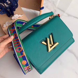"Bolsa Louis Vuitton Twist MM ""Verde Escuro"""
