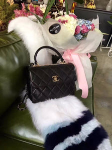 "Bolsa Chanel Y60767 ""Black/Gold"""