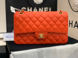 "Bolsa Chanel A01112 ""Orange/Gold"""