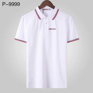 "Camisa Prada Polo ""White/Red"""